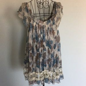 Free People One Babydoll Blouse, s/p